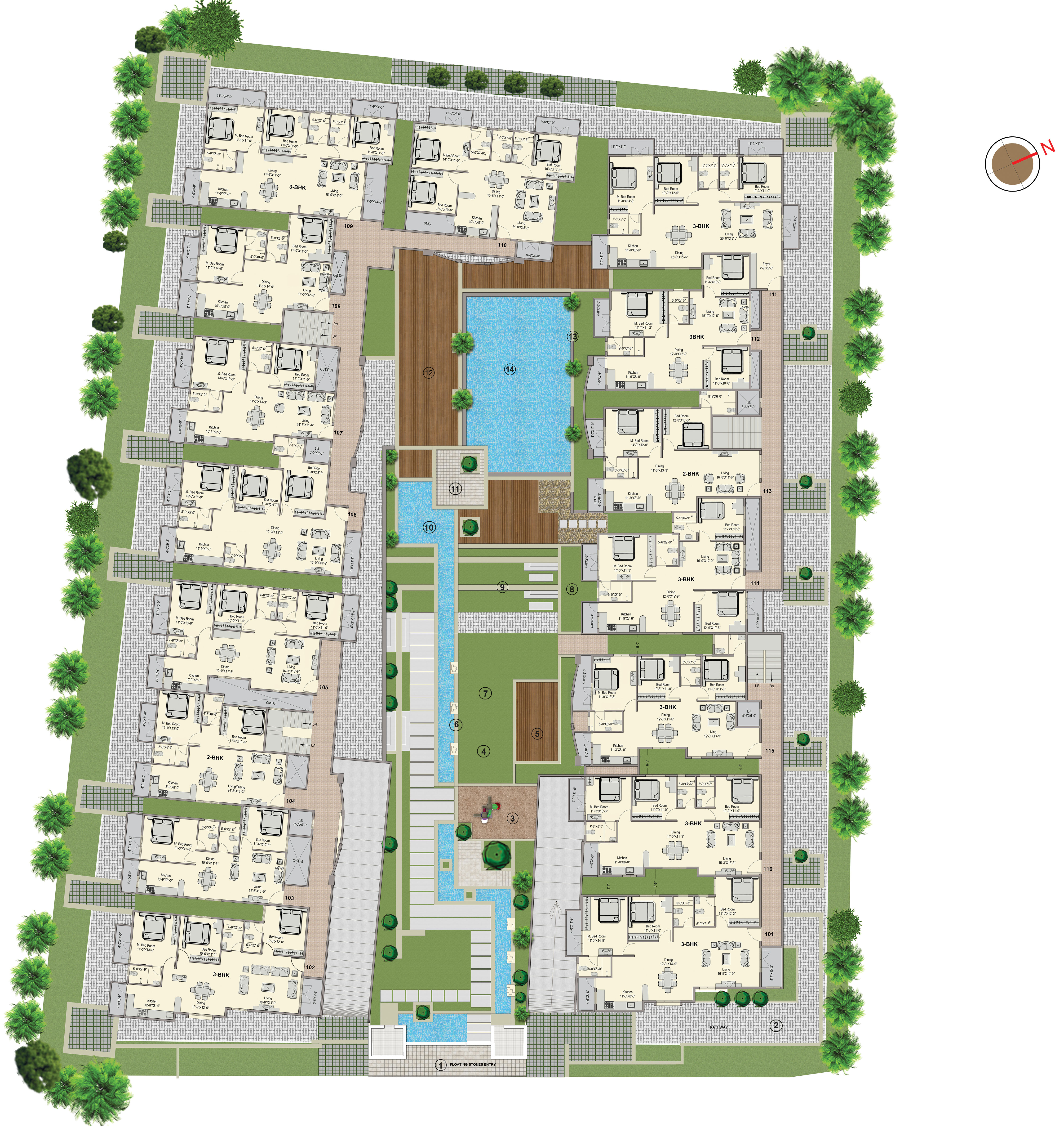 Esplanade Layout Plan
